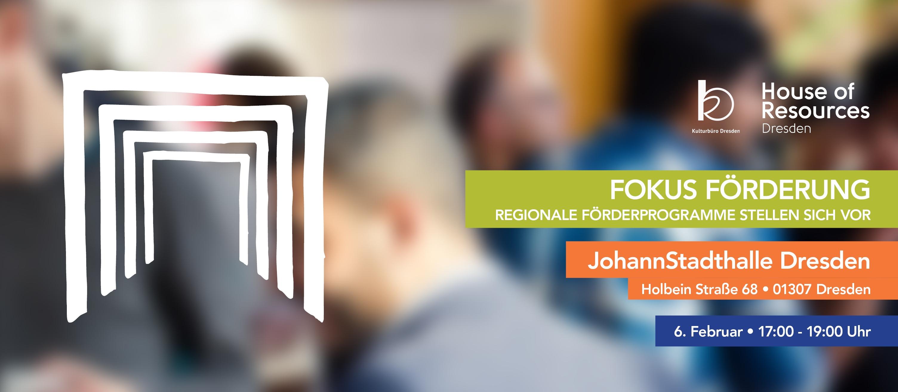 Fokus Förderung: regionale Förderprogramme stellen sich vor