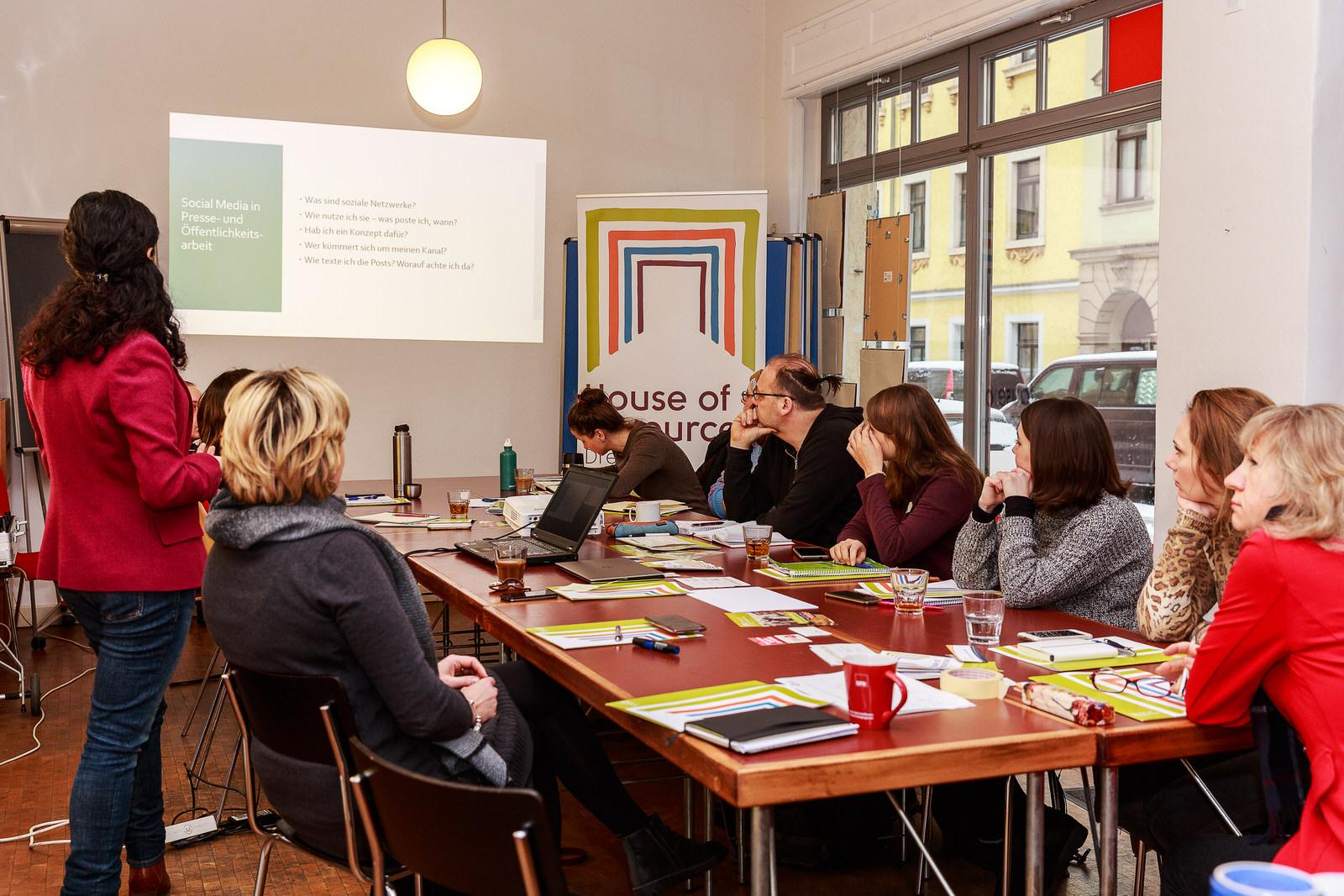 Workshop: Social Media mit Dena Kelishadi