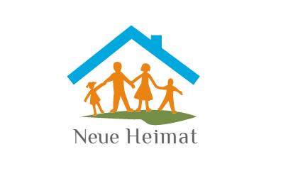 Logo neue Heimat ev