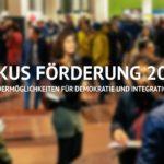header: Fokus Förderung 2020