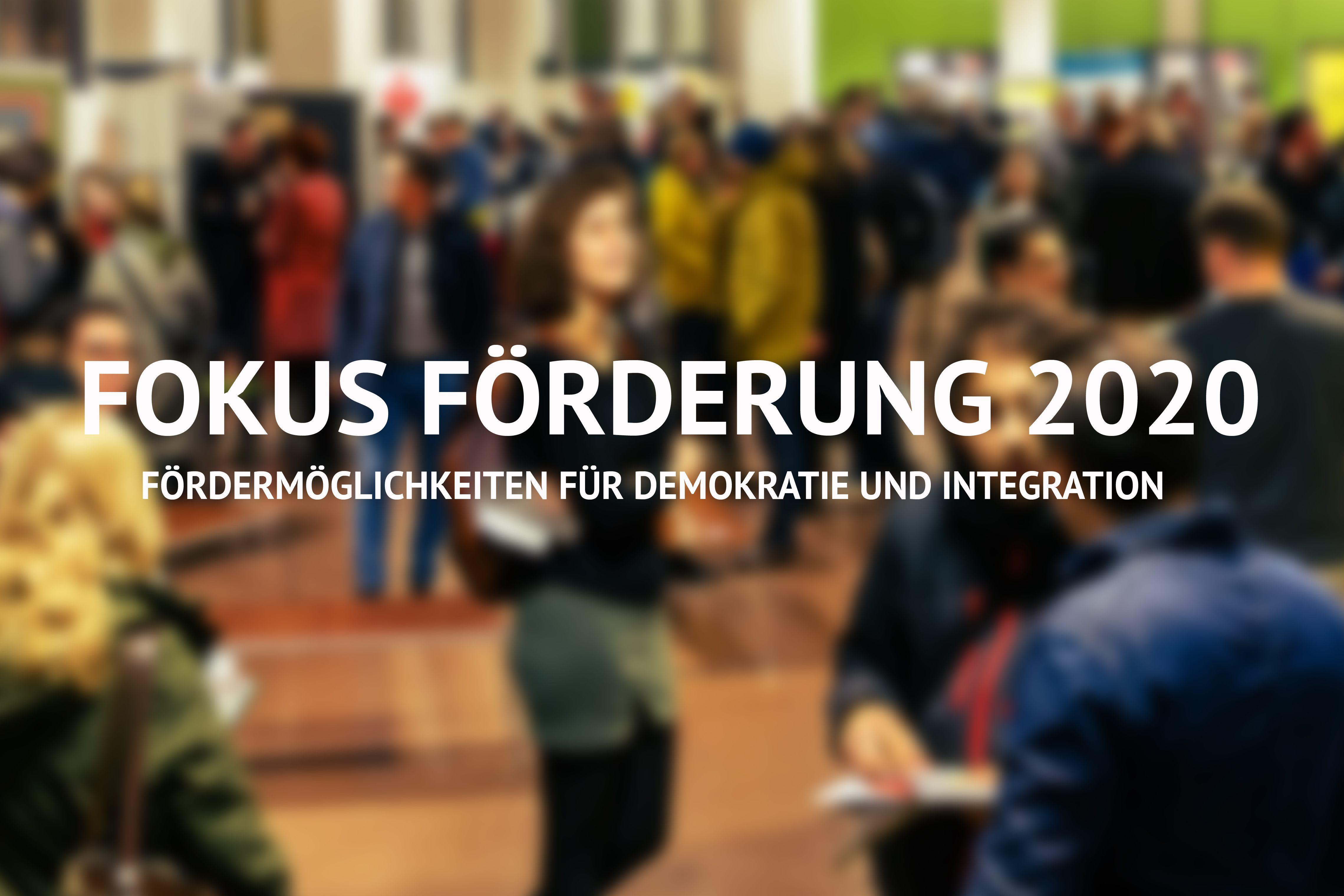Fokus Förderung 2020