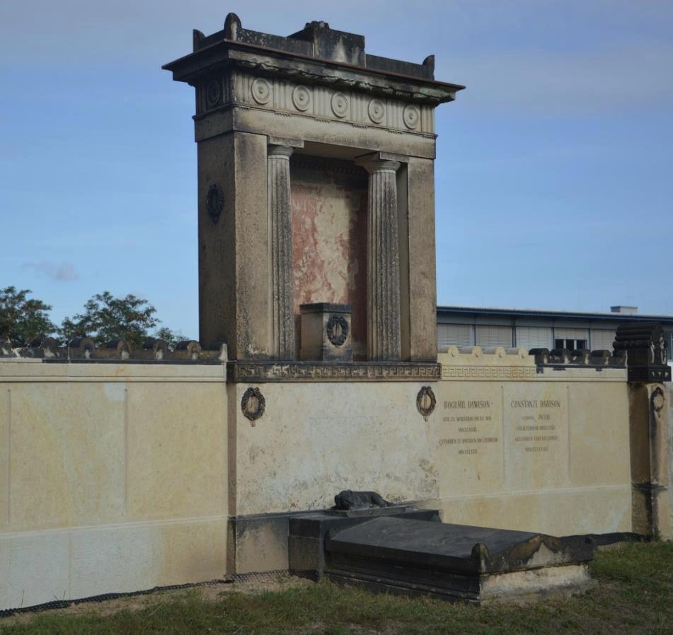 Grabmal von Bogumil Dawison