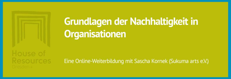 Online-Seminar: Grundlagen der Nachhaltigkeit in Organisationen