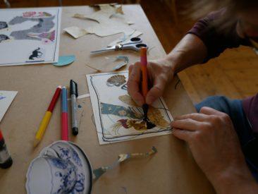 LebensBILD Atelierworkshop mit Anja Maria Eisen (© Elena Pagel)