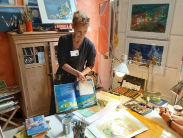 LebensBILD Atelierworkshop mit Annette von Bodecker (© Verena_Böll)