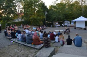 Raving Iran Open-Air-Kino in Pirna-Sonnenstein.