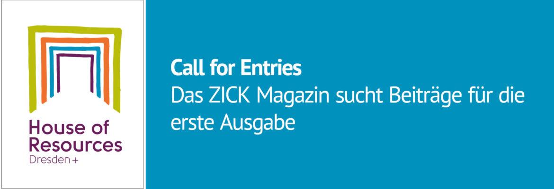 Call for Entries: Zick Magazin sucht Beiträge zum Thema Raum