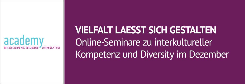 Vilfalt lässt sich gestalten - Online-Seminare der academy-isc