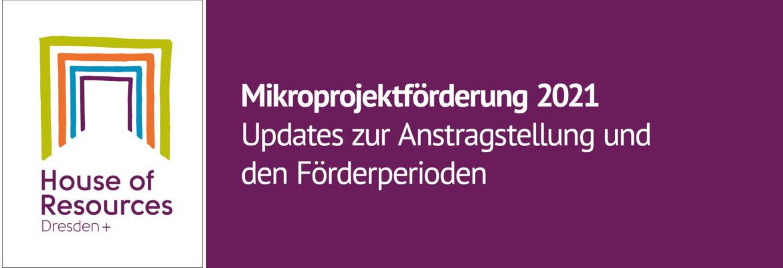 Informationen zur Mikroprojektfoerderung 2021
