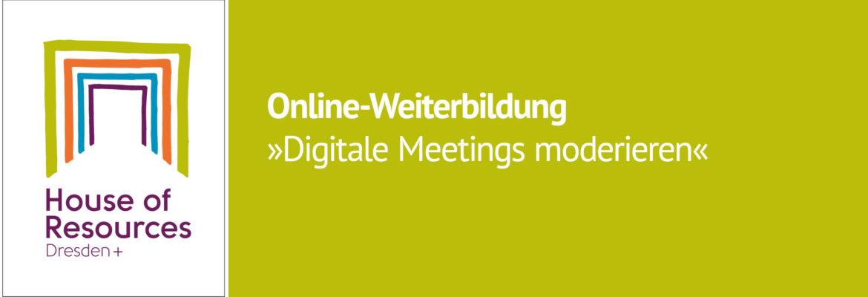 Digitale Meetings moderieren | Online-Weiterbildung am 29. Januar bei Zoom.