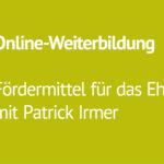 Online-Weiterbildung am 24.März: Fördermittel im Ehrenamt