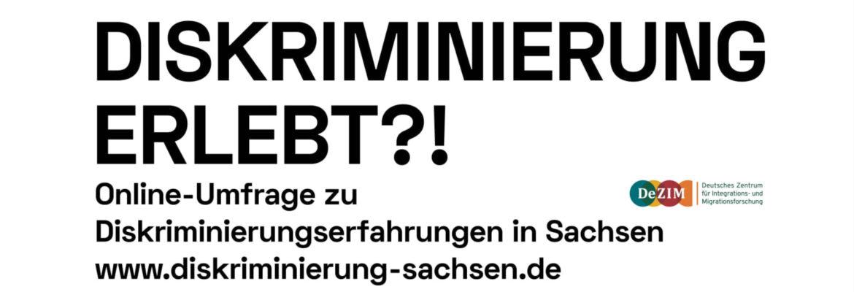 Diskriminierungsstudie Sachsen gestartet