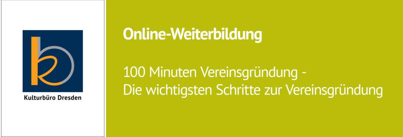 Weiterbildung am 24. März: »100 Minuten Vereinsgründung«