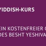Yiddish-Onlinekurs