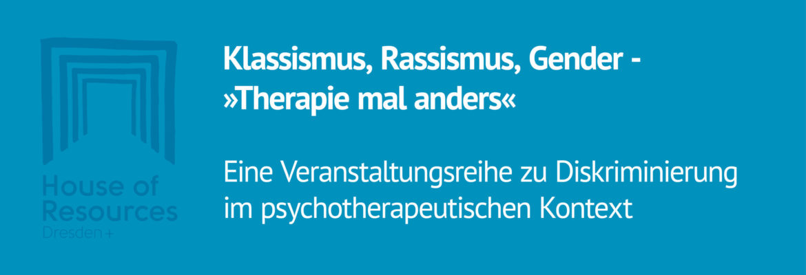 Therapie mal anders