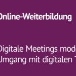 Digitale Meetings II - Kostenfreier Workshop des HoRDD+