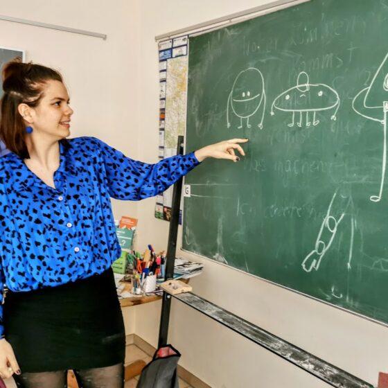 Workshop mitDaniela Laura Rodriguez Bello in im IBZ Pirna