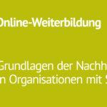 [Verschoben] Grundlagen der Nachhaltigkeit in Organisationen