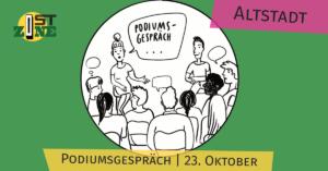 ostzone Altstadt: podiumsgespräch