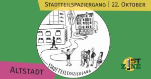 ostzone Altstadt: : stadtteilspaziergang
