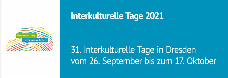 Interkulturelle Tage in Dresden 2021