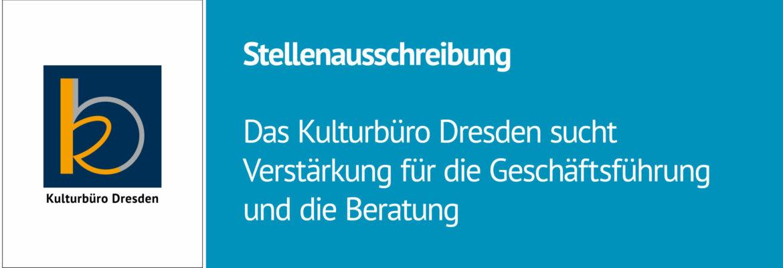 stellenausschreibung des Kulturbüro Dresden